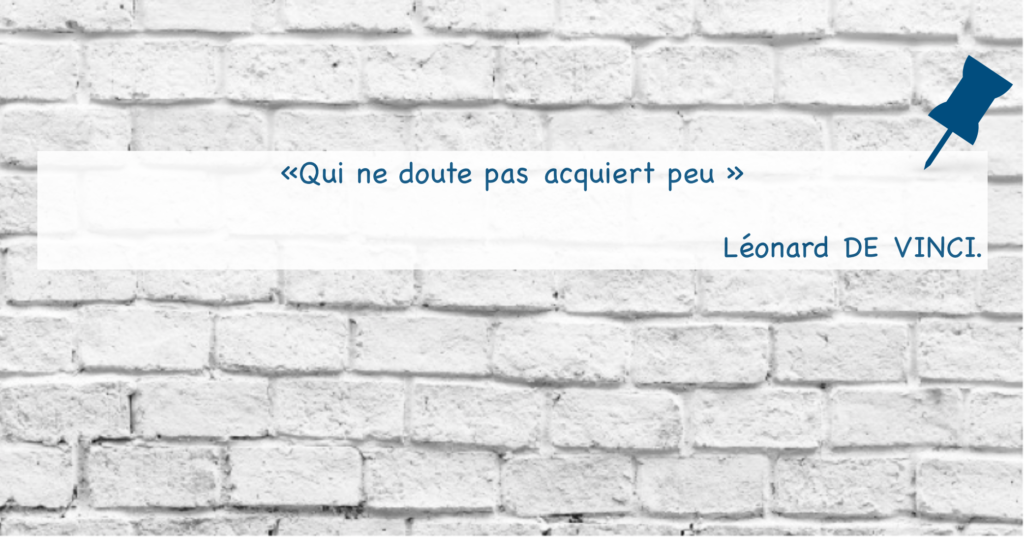 Citation Leonard de Vinci