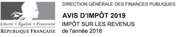 Impot 2019